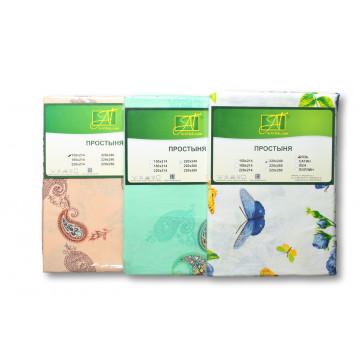 Простынь 150*214 ткань хлопок ПР-15