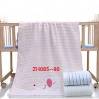 ZH085 Розовая МТ Слон 110х110 Простыня 7-Y
