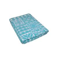 Морская Волна Уют 5772ВЖК 215х150 100% х/б Байковое жак одеяло Ермолино