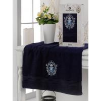 10224 Синий BOSS 70х130 полотенце в коробке MERZUKA