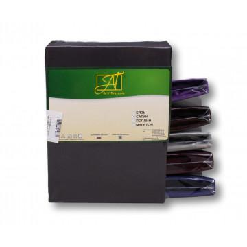 Н-С-50-ГР графит наволочка ткань сатин 2шт.-50х70