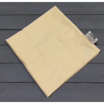 Н-С-70-БЕЖ бежевая наволочка ткань сатин 2шт.-68х68