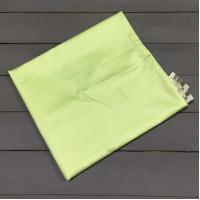 Н-С-50-САЛ салатовая наволочка ткань сатин 2шт.-50х70