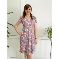 ПЛ-07/1 Платье Складка с рукавом
