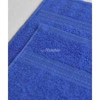 Синяя 150х210 Простыня Махровая ITUMA