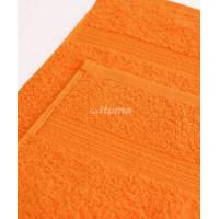 Оранжевая 150х210 Простыня Махровая ITUMA