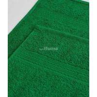 Ярко-зеленая 150х210 Простыня Махровая ITUMA