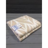 """Одеяло """"Листья"""" 140х205 бел-беж"""