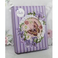 4213030+k-269 Лесная бабочка 50х90 в коробке Набор полотенец АРТЕКС