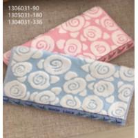 1304031-336 Розы М 34х75 (12) полотенце 7-Y