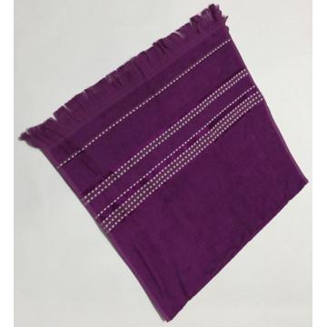 Фиолетовый Econik 70х130 бамбук полотенце (1шт) Фиеста