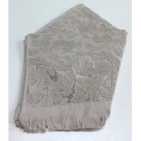 Бежевый ORIENT 30х50 хлопок М полотенце (1шт) Фиеста