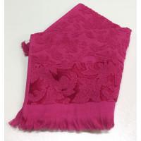 Розовый ORIENT 50х90 хлопок М полотенце (1шт) Фиеста