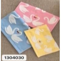 1304030-336 Лебеди М 34х75 (12) полотенце 7-Y