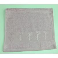 Розовый Bamboo 50х90 бамбук полотенце (1шт) Фиеста