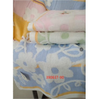 390637-90 Цветочки 70х140 (6) полотенце 7-Y