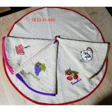 5833 Фрукты Овощи В Крупная Диаметр 70х70 (12) полотенце 7-Y