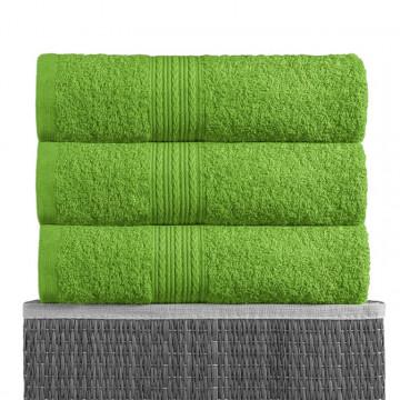 Зеленый 40х70 Полотенца махровое 1 шт BAYRAMALY