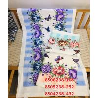 8504238-432 Летний сад М 34х75 (12) полотенце 7-Y