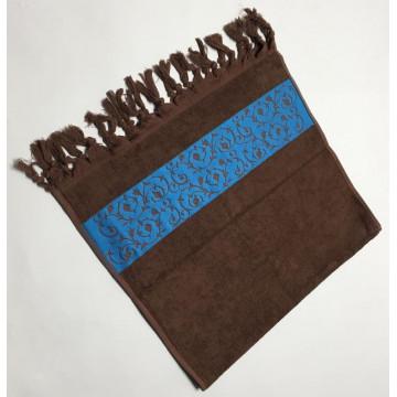 Коричневый Classik 70х130 бамбук полотенце (1шт) Фиеста