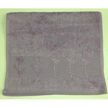 Сиреневый Bamboo 50х90 бамбук полотенце (1шт) Фиеста