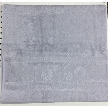 Серый OPRIORY 70х140 бамбук полотенце (1шт) Фиеста