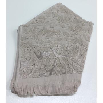 Бежевый ORIENT 50х90 хлопок М полотенце (1шт) Фиеста