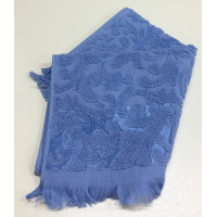 Синий ORIENT 70х130 хлопок М полотенце (1шт) Фиеста