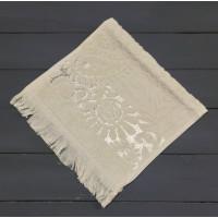Бежевый SAL 70х130 хлопок М полотенце (1шт) Фиеста