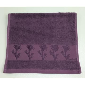 Черника Bamboo 50х90 бамбук полотенце (1шт) Фиеста