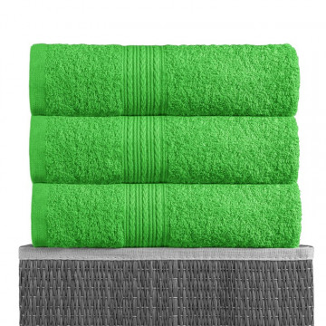Ярко-зеленый 50х90 Полотенца махровое 1 шт BAYRAMALY