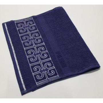 Синий Prime 70х130 хлопок М полотенце (1шт) Фиеста