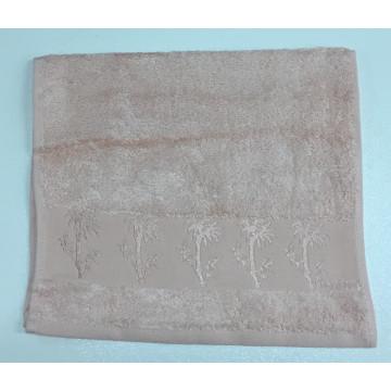 Персик Bamboo 50х90 бамбук полотенце (1шт) Фиеста