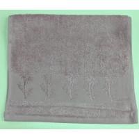 Сливовый Bamboo 70х130 бамбук полотенце (1шт) Фиеста
