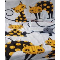 105G3 Коты с Усами х/б ткань двухслойное 34х74 (12) Полотенце Северный город