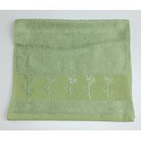Зелень Bamboo 70х130 бамбук полотенце (1шт) Фиеста