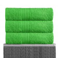 Ярко-зеленый 100х180 Полотенца махровое 1 шт BAYRAMALY