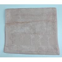 Персик Bamboo 70х130 бамбук полотенце (1шт) Фиеста