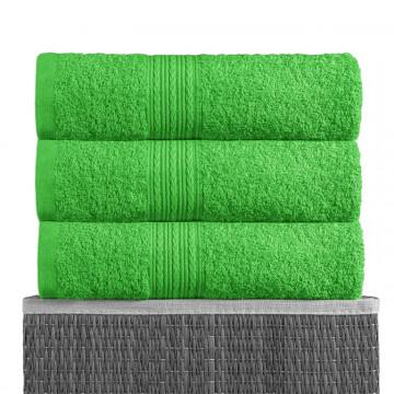 Ярко-зеленый 40х70 Полотенца махровое 1 шт BAYRAMALY