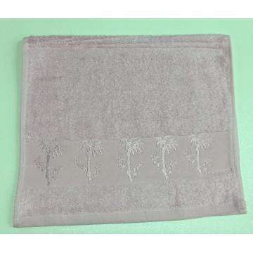 Розовый Bamboo 70х130 бамбук полотенце (1шт) Фиеста