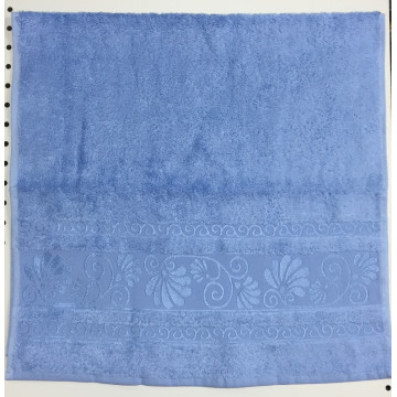 Голубой OPRIORY 50х90 бамбук полотенце (1шт) Фиеста