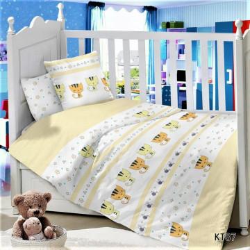 CДA-10-022/KT-87 Котята КПБ Детский в кроватку Сатин АльВиТек