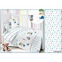 CДA-10-034/KT-111 Пираты КПБ Детский в кроватку Сатин АльВиТек