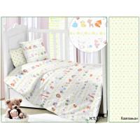 CДA-10-036/KT-113 Вокруг света КПБ Детский в кроватку Сатин АльВиТек