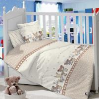 CДA-10-007/KT-62 Зверюшки КПБ Детский в кроватку Сатин АльВиТек