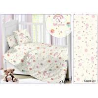 CДA-10-039/KT-118 Принцессы КПБ Детский в кроватку Сатин АльВиТек