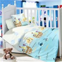 CДA-10-016/KT-67 Маленькие Пираты КПБ Детский в кроватку Сатин АльВиТек